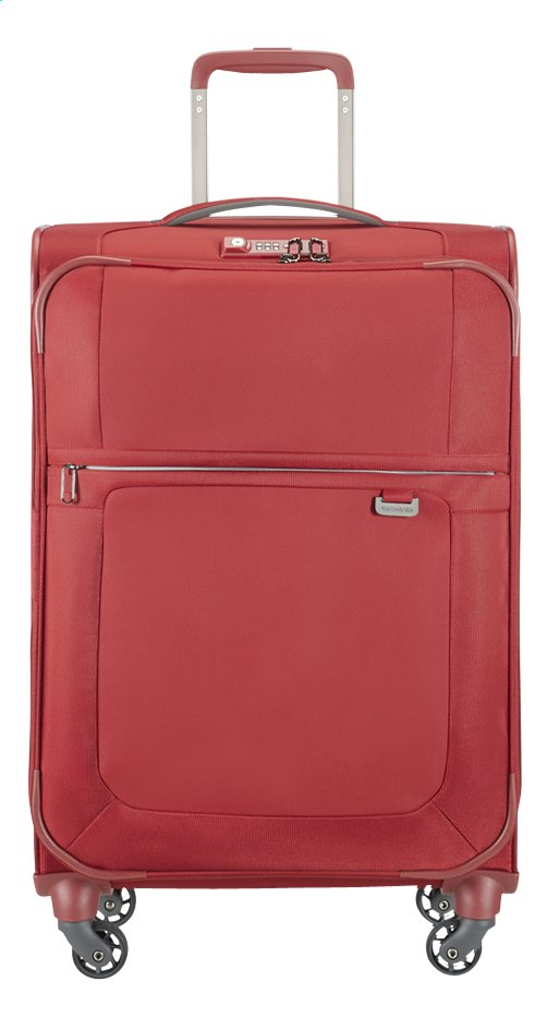 Image pour Samsonite Valise souple Uplite EXP Spinner red 67 cm à partir de ColliShop