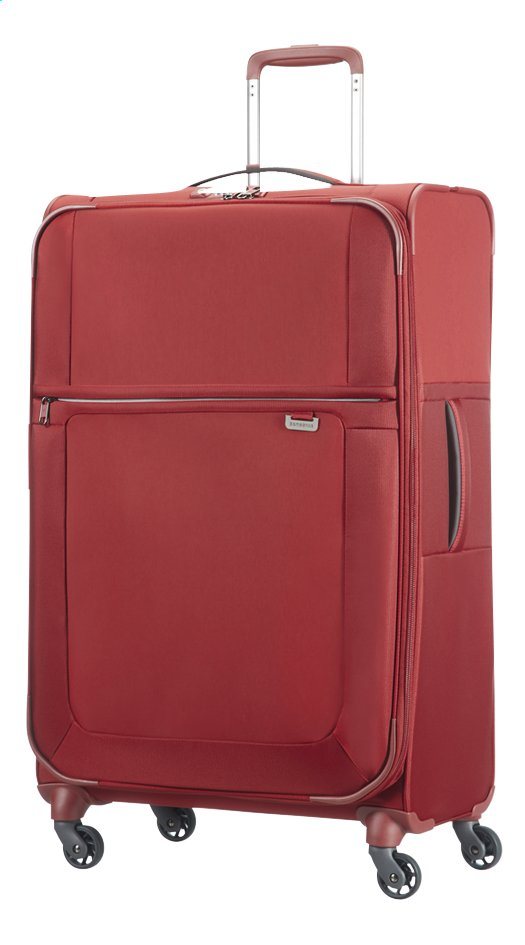 Image pour Samsonite Valise souple Uplite EXP Spinner red 78 cm à partir de ColliShop