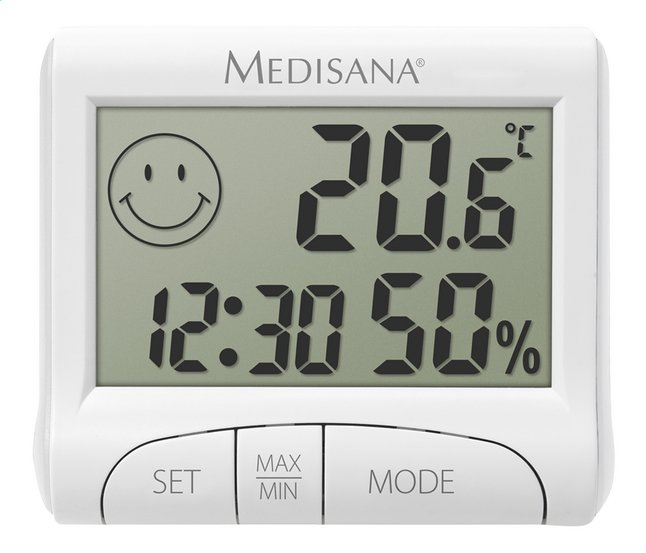 Afbeelding van Medisana Thermometer/hygrometer HG 100 from ColliShop