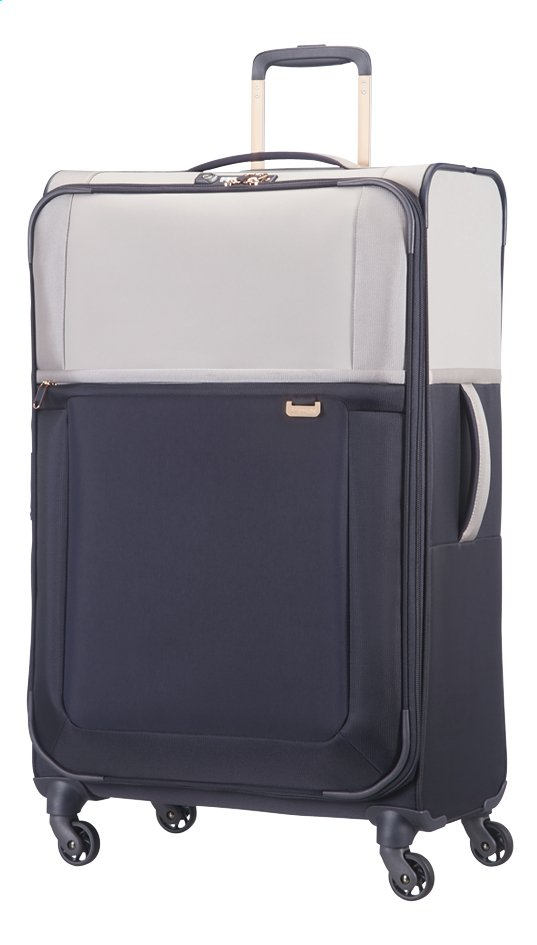 Afbeelding van Samsonite Zachte reistrolley Uplite EXP Spinner pearl/blue from ColliShop