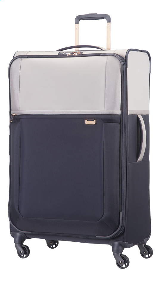 Image pour Samsonite Valise souple Uplite EXP Spinner pearl/blue à partir de ColliShop
