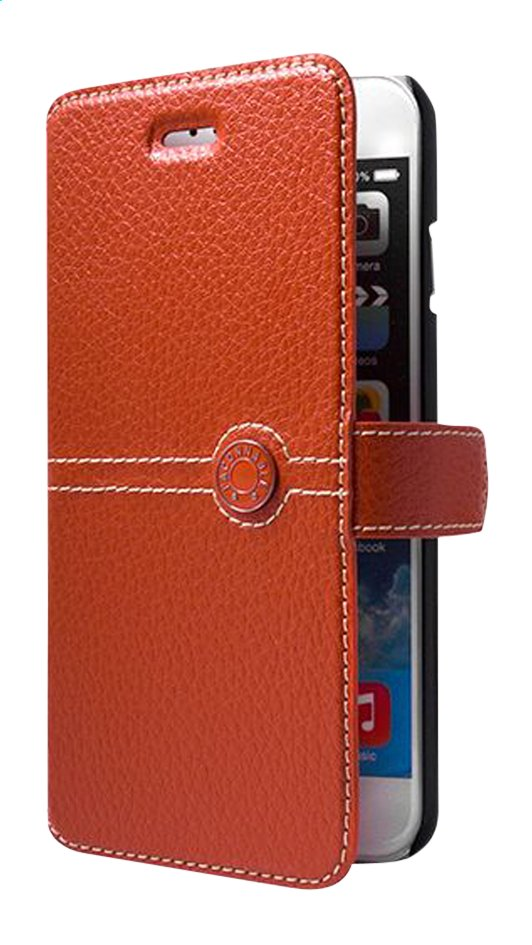 Afbeelding van bigben foliocover Façonnable voor iPhone 6/6s oranje from ColliShop