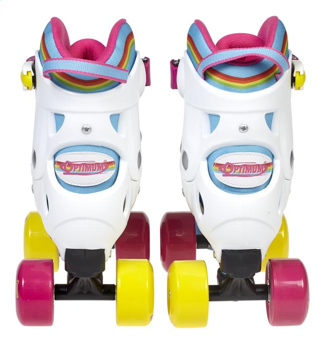 d0a256af8fa Optimum rolschaatsen Rainbow maat 32-35   ColliShop