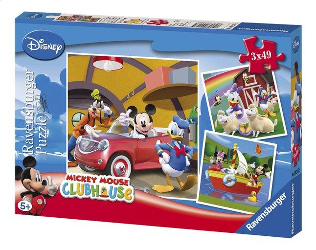 Afbeelding van Ravensburger 3-in-1 puzzel Iedereen houdt van Mickey from ColliShop