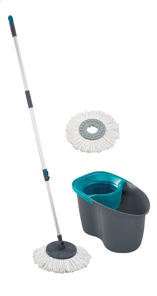 Image pour Leifheit Set avec balai à franges Rotation Disc Mop gris/vert à partir de ColliShop