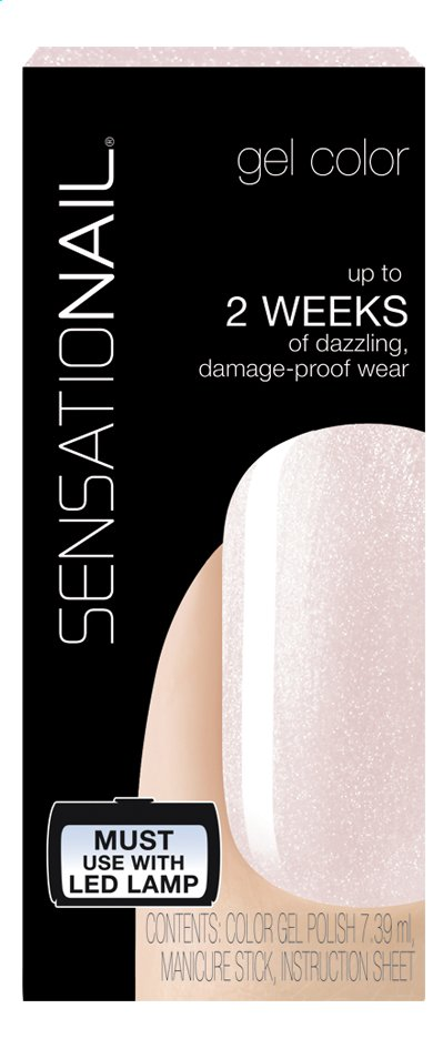 Afbeelding van SensatioNail Gel Polish Pink Champagne from ColliShop