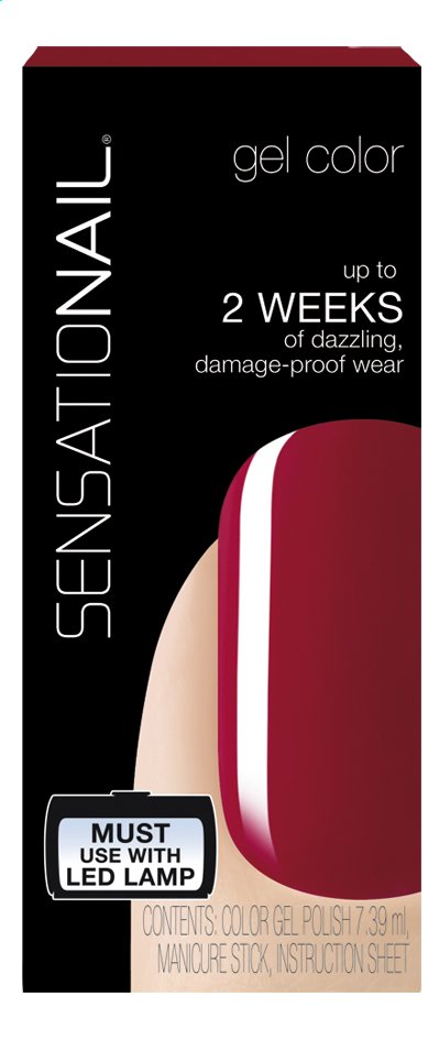 Afbeelding van SensatioNail Gel Polish Juicy Sangria from ColliShop