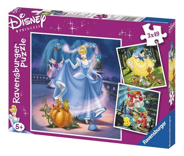 Afbeelding van Ravensburger 3-in-1 puzzel Prinsessen from ColliShop