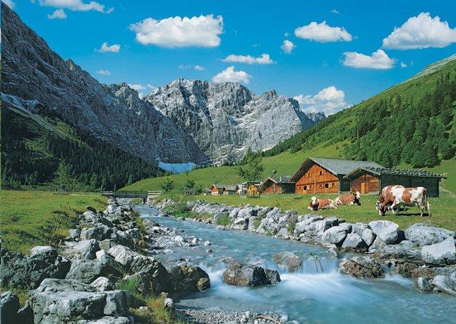 Afbeelding van Ravensburger puzzel Karwendelgebergte, Oostenrijk from ColliShop