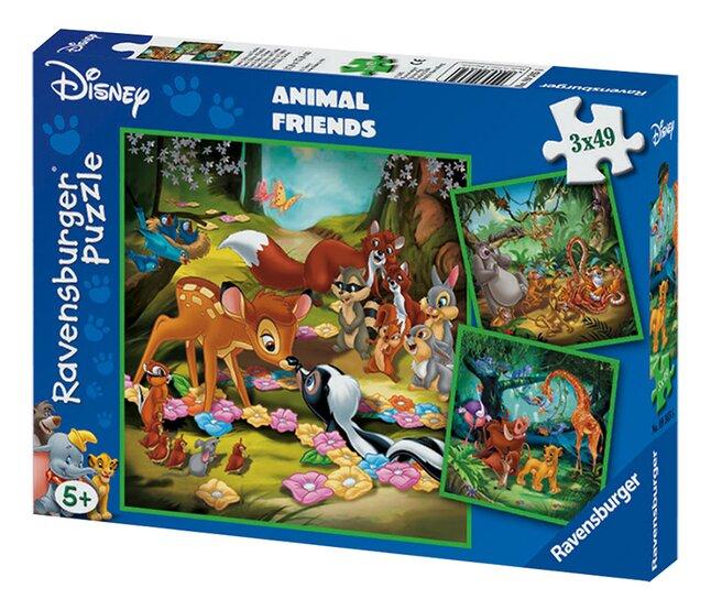Image pour Ravensburger puzzle 3 en 1 Bambi, Baloo et Simba à partir de ColliShop