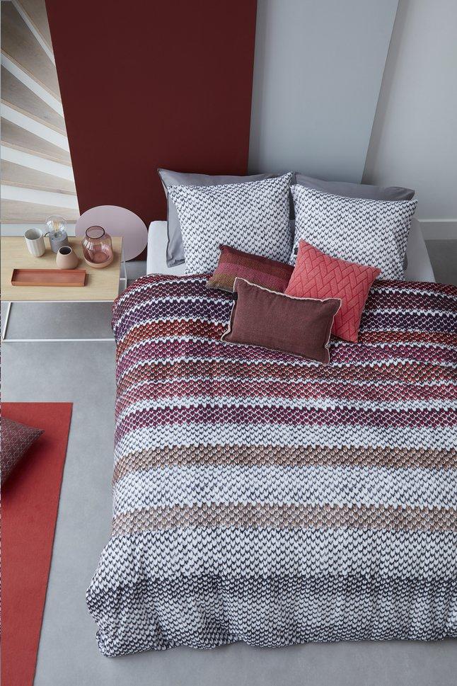 Image pour Beddinghouse Housse de couette Jarno flanelle red 140 x 220 cm à partir de ColliShop