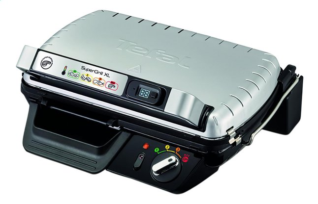 Afbeelding van Tefal Multigrill SuperGrill XL Timer GC461B12 from ColliShop