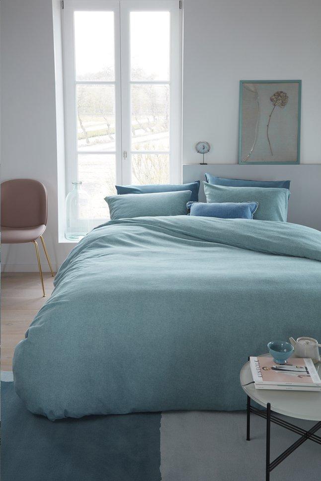 Image pour Beddinghouse Housse de couette Frost flanelle blue 240 x 220 cm à partir de ColliShop