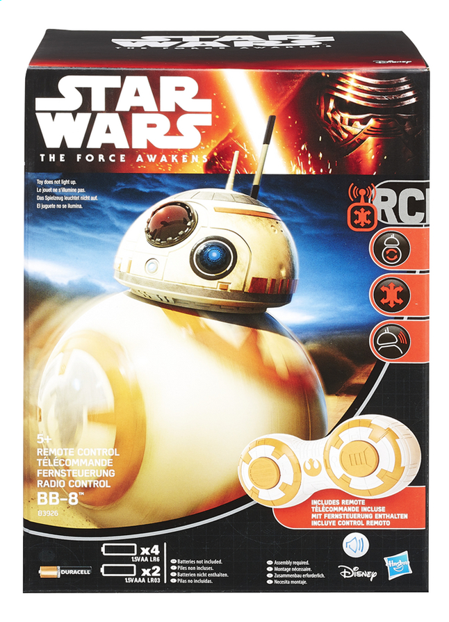 Afbeelding van Hasbro RC-robot Star Wars droid BB-8 from ColliShop