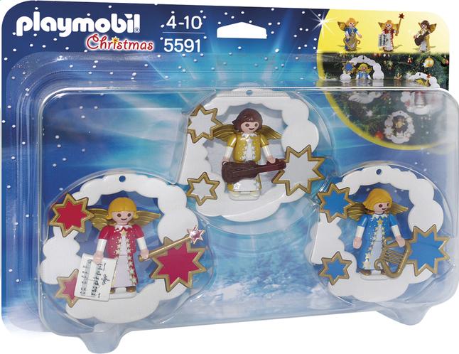 Afbeelding van Playmobil Christmas 5591 Kerstdecoratie Engelen from ColliShop