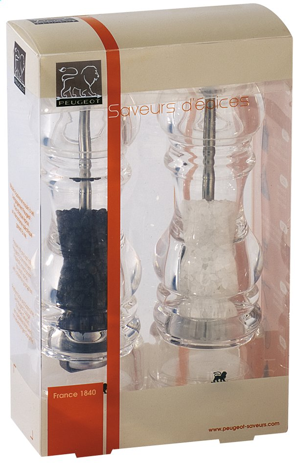 Afbeelding van Peugeot Set van peper- en zoutmolen Nancy Duo 18 cm from ColliShop
