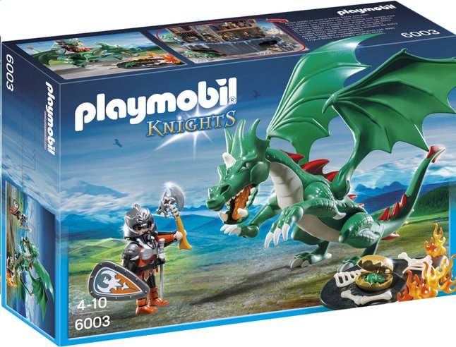 Afbeelding van Playmobil Knights 6003 Kasteeldraak from ColliShop