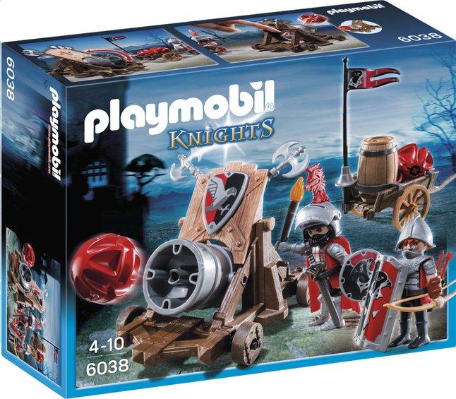 Afbeelding van Playmobil Knights 6038 Groot kanon van de Valkenridders from ColliShop
