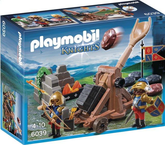 Afbeelding van Playmobil Knights 6039 Katapult van de Leeuwenridders from ColliShop