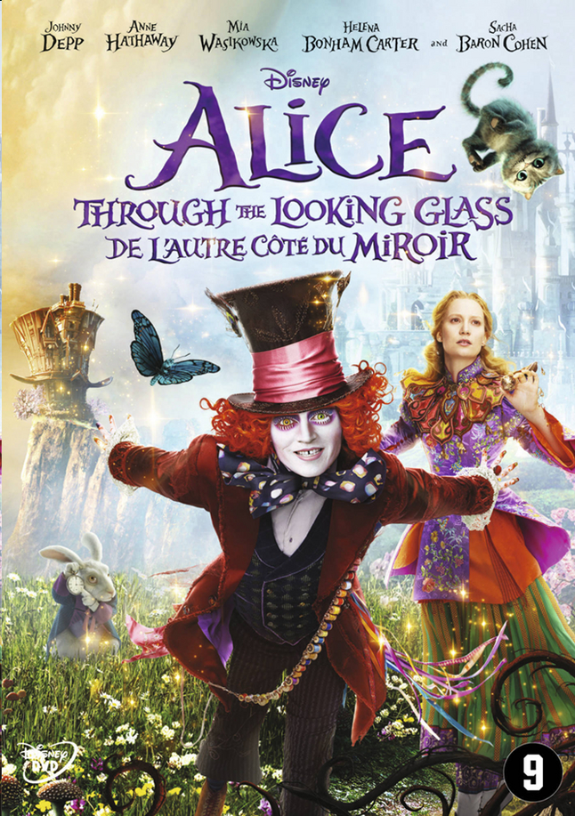 Afbeelding van Dvd Disney Alice Through the looking glass from ColliShop