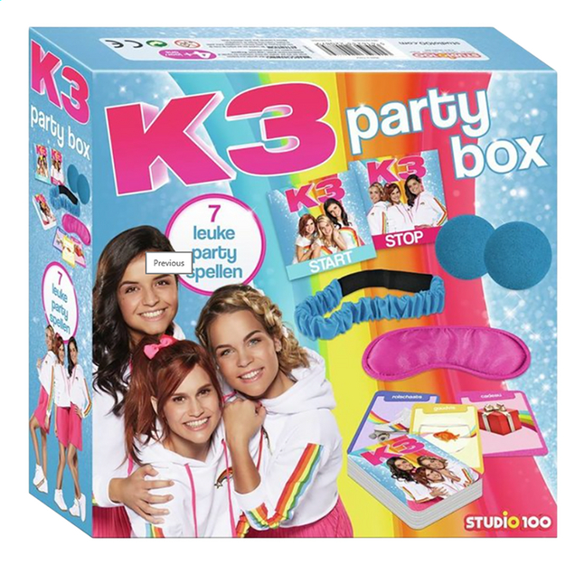 Afbeelding van K3 Party Box from ColliShop