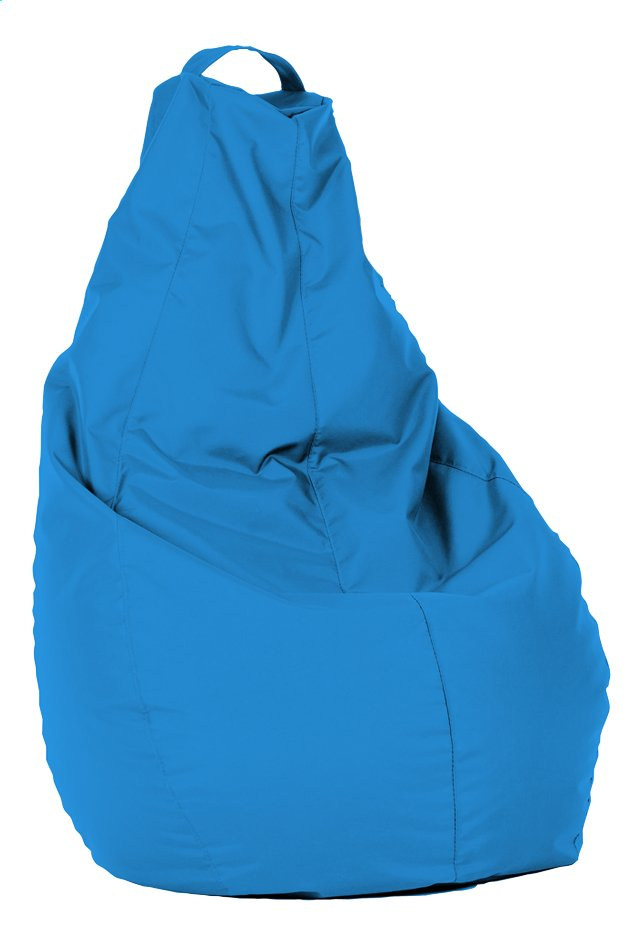 Pouf Poire turquoise