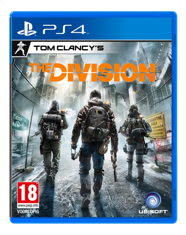 Image pour PS4 Tom Clancy's The Division FR/ANG à partir de ColliShop
