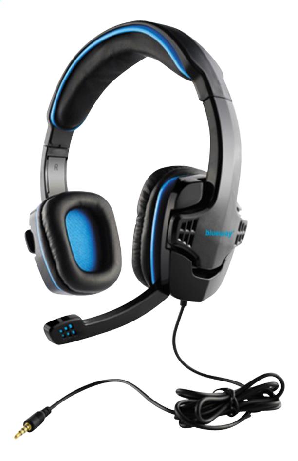 bigben casque micro ps4 blueway noir bleu pas cher prix. Black Bedroom Furniture Sets. Home Design Ideas
