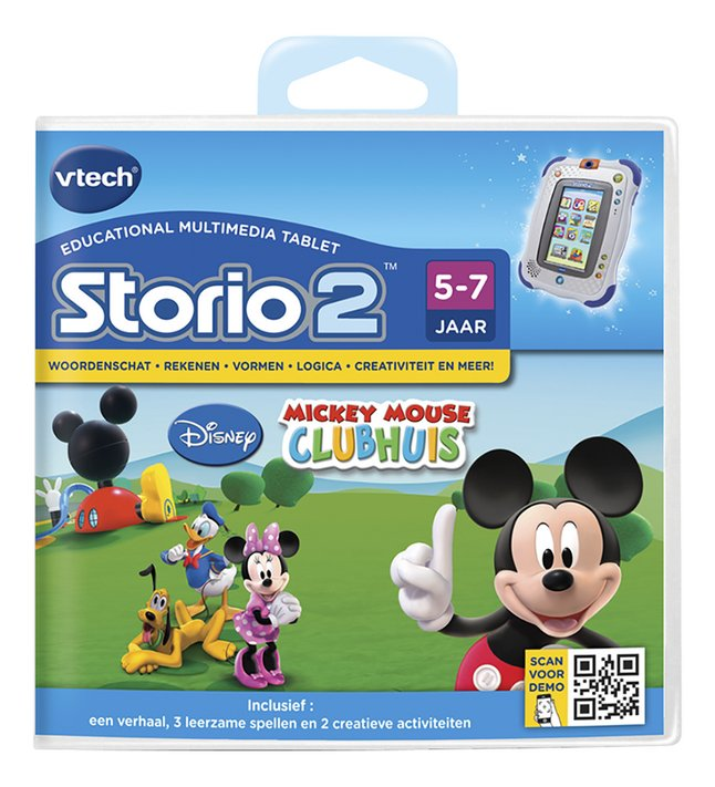 Afbeelding van VTech Storio 2 spel Mickey Mouse Clubhuis from ColliShop