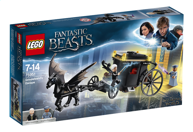Afbeelding van LEGO Fantastic Beasts 75951 Grindelwald's ontsnapping from ColliShop