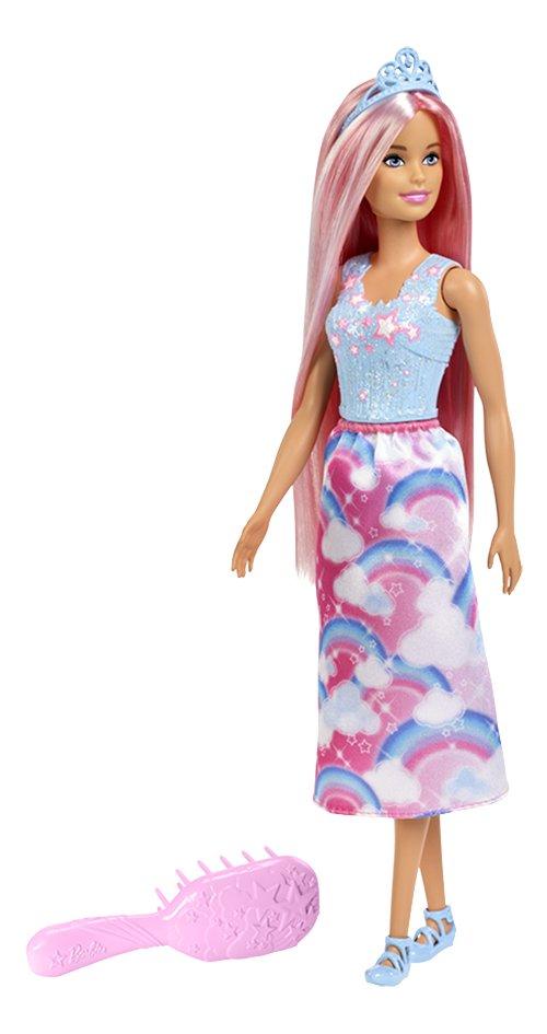 Barbie mannequinpop Dreamtopia Prinses met lang roze haar