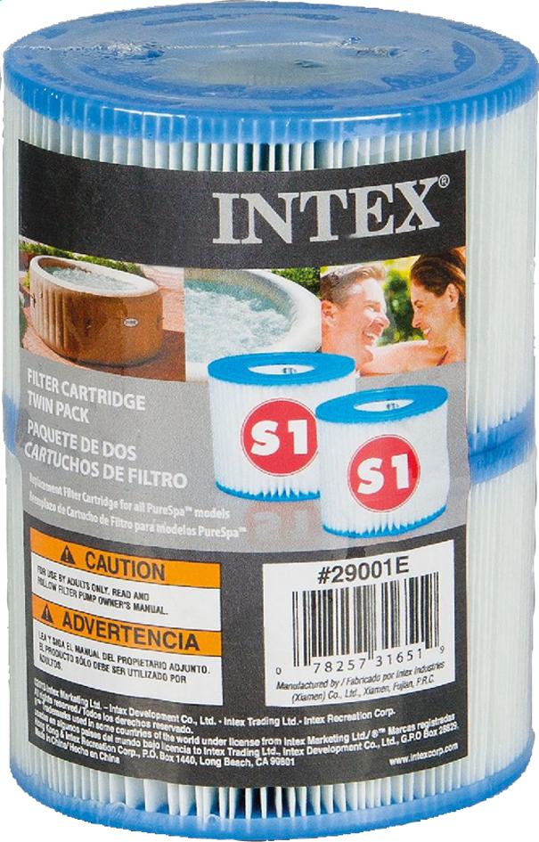 Image pour Intex 2 cartouches filtrantes pour jacuzzis PureSpa à partir de ColliShop