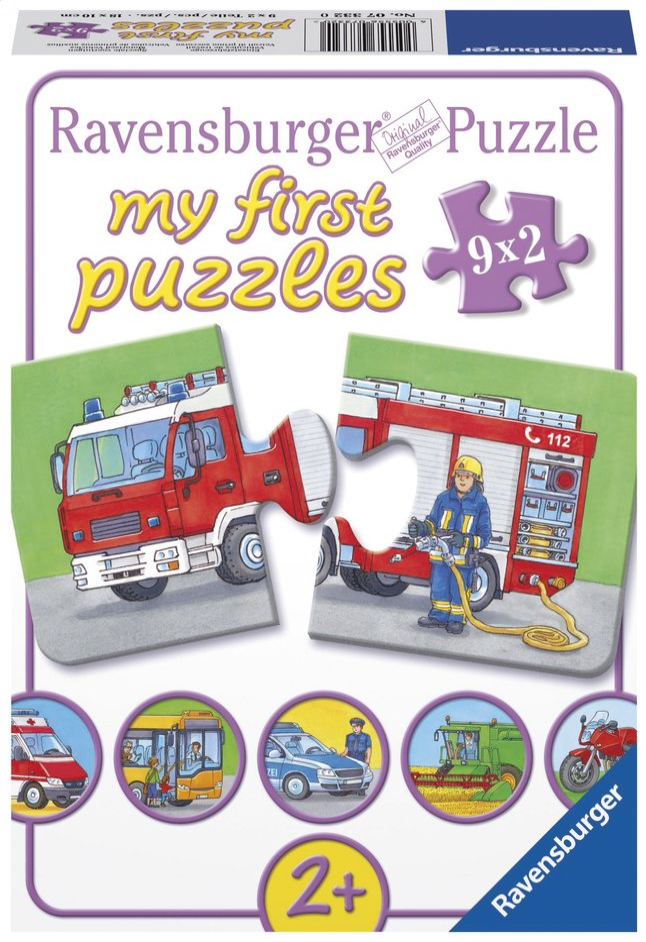 Afbeelding van Ravensburger puzzelbox Speciale voertuigen from ColliShop