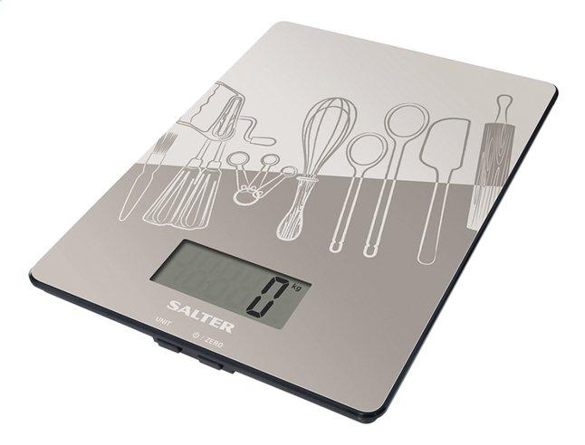 Afbeelding van Salter digitale keukenweegschaal SA1102 Kitchen grijs from ColliShop