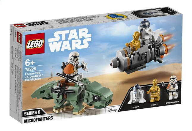 Afbeelding van LEGO Star Wars 75228 Escape Pod vs. Dewback Microfighters from ColliShop