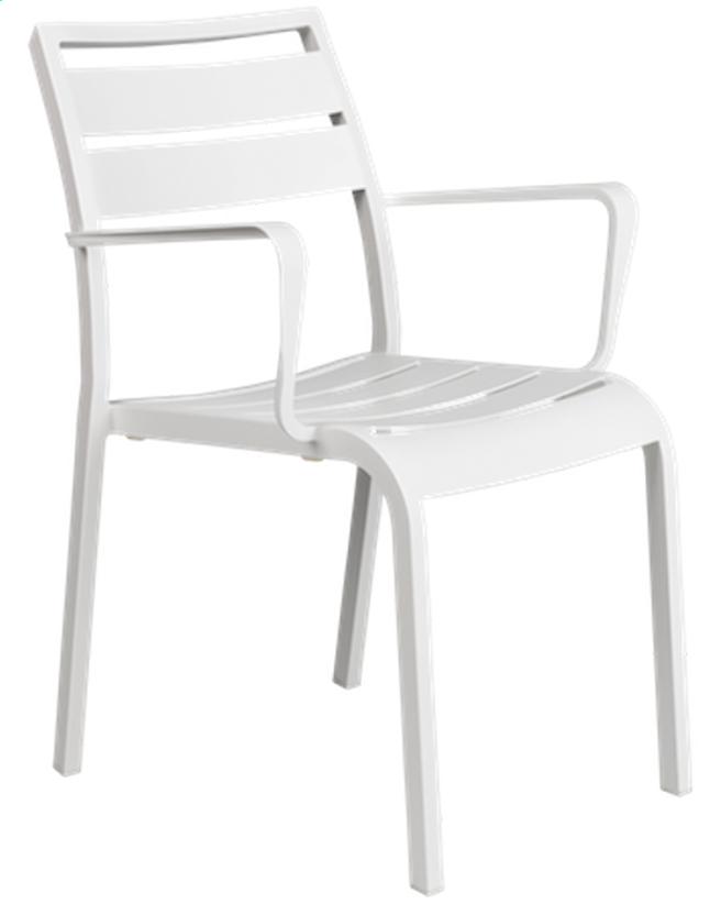 Image pour Chaise de jardin Nice blanc à partir de ColliShop