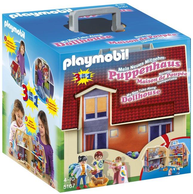 Image pour Playmobil Dollhouse 5167 Maison transportable à partir de ColliShop