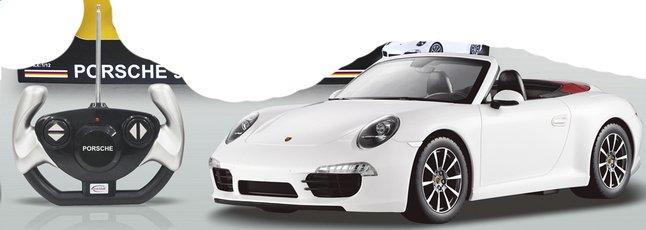 Image pour Voiture RC Porsche 911 Carrera S blanc à partir de ColliShop