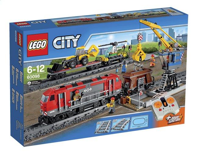 Afbeelding van LEGO City 60098 Zware goederen vrachttrein from ColliShop