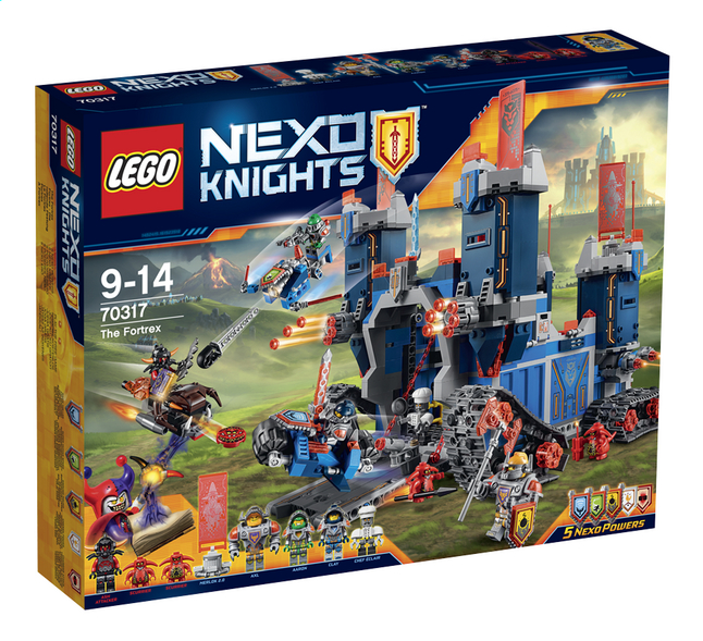 Afbeelding van LEGO Nexo Knights 70317 De Fortrex from ColliShop