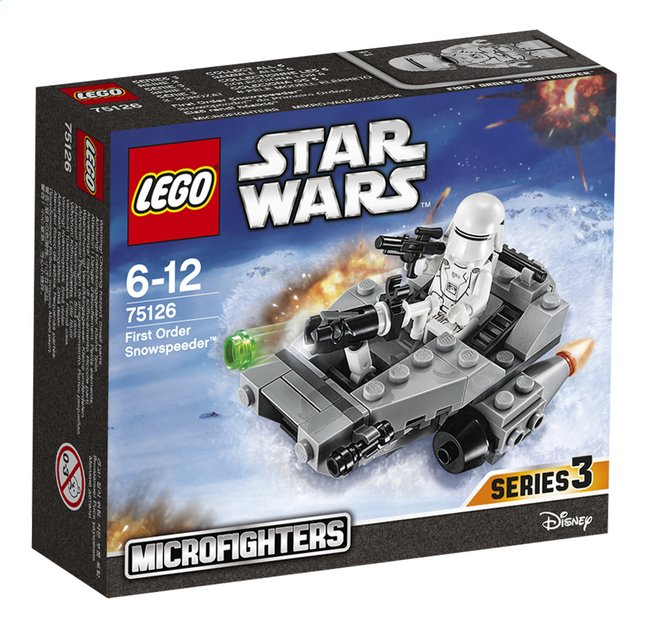 Afbeelding van LEGO Star Wars 75126 First order snowspeeder from ColliShop