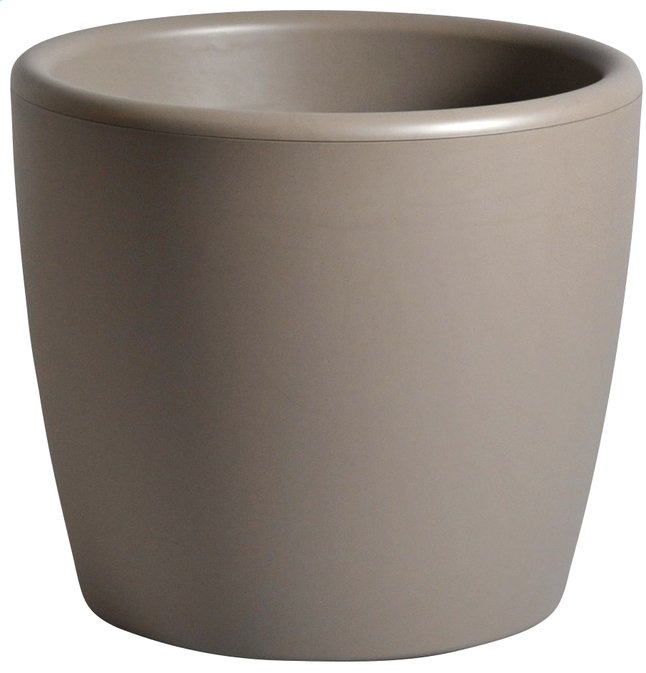 Afbeelding van MCollections bloempot Essence taupe H 39,5 cm from ColliShop