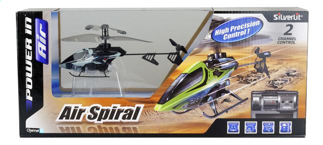 Image pour Silverlit hélicoptère Air Spiral bleu à partir de ColliShop
