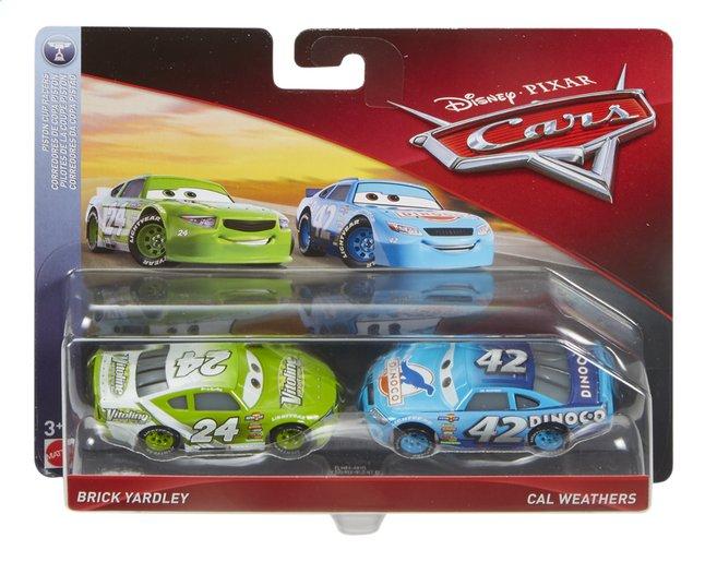 Voiture Disney Cars 3 Brick Yardley & Cal Weathers
