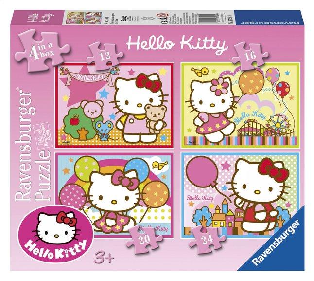 Afbeelding van Ravensburger meegroeipuzzel 4-in-1 Hello Kitty from ColliShop