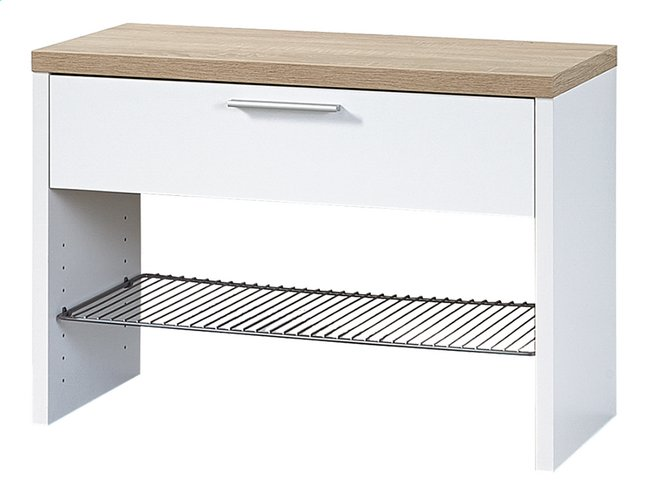 Afbeelding van Germania Schoenenkast Quality wit decor 3 paar schoenen from ColliShop