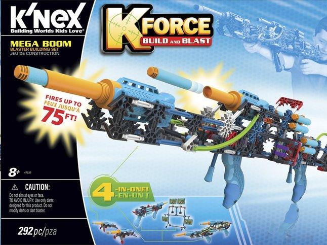Image pour K'nex K-Force Build and Blast Mega Boom à partir de ColliShop