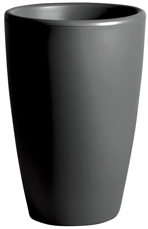 Afbeelding van MCollections Bloempot Essence antraciet H 66,5 cm from ColliShop