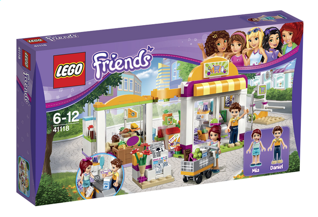 Image pour LEGO Friends 41118 Le supermarché de Heartlake City à partir de ColliShop