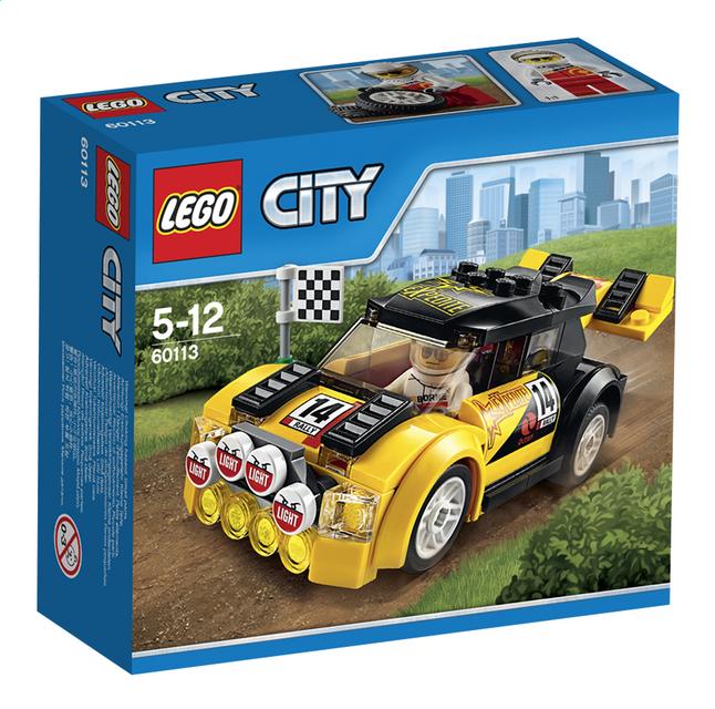 Afbeelding van LEGO City 60113 Rallyauto from ColliShop